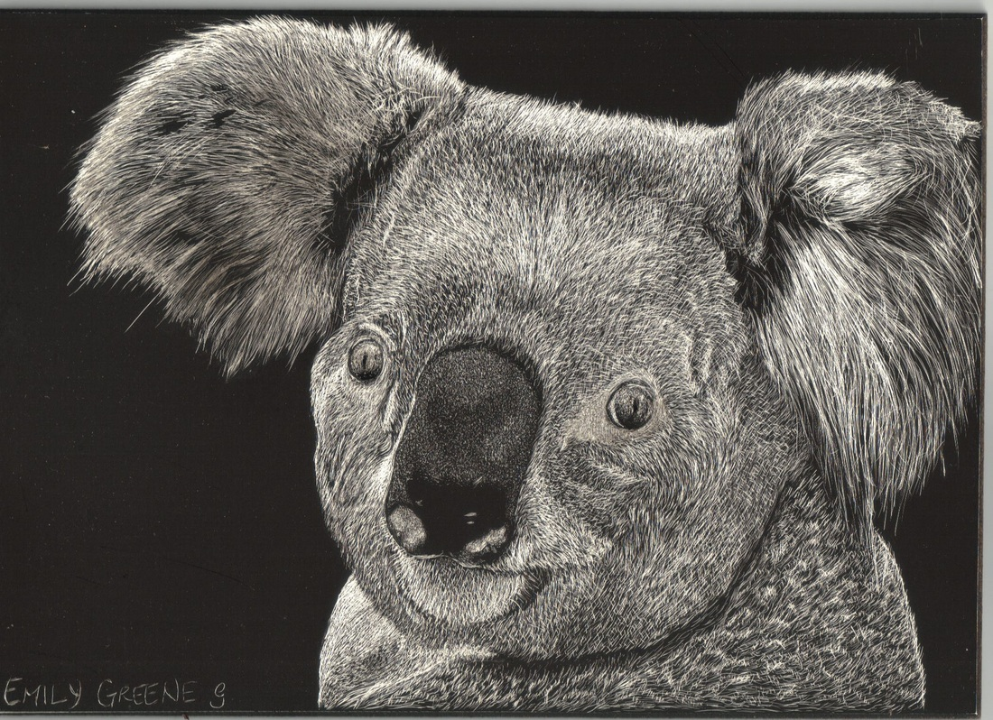 Scratchboard art for kids - photo#27